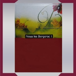 Bergerac Rouge Millésime 2016 - 5L